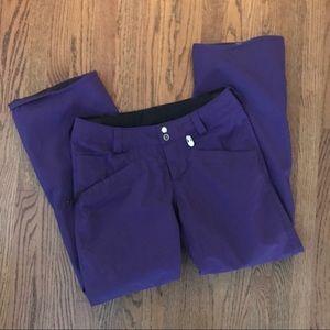 Ladies Volcom Nimbus Snowboard Pants Purple M